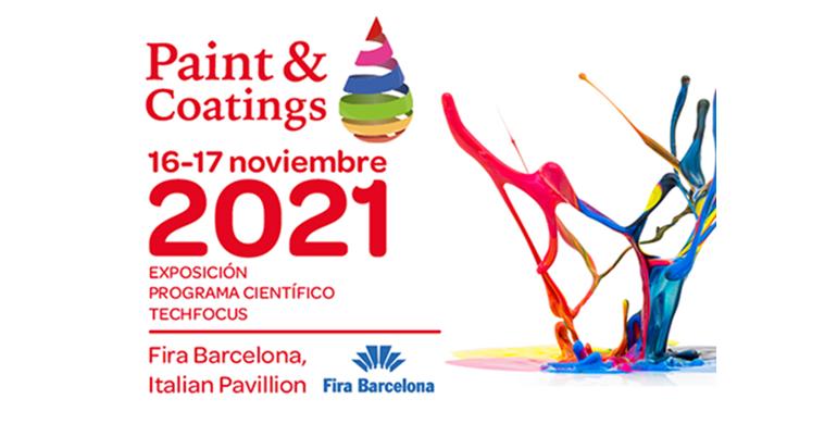 Paint & Coating se aplaza hasta noviembre de 2021
