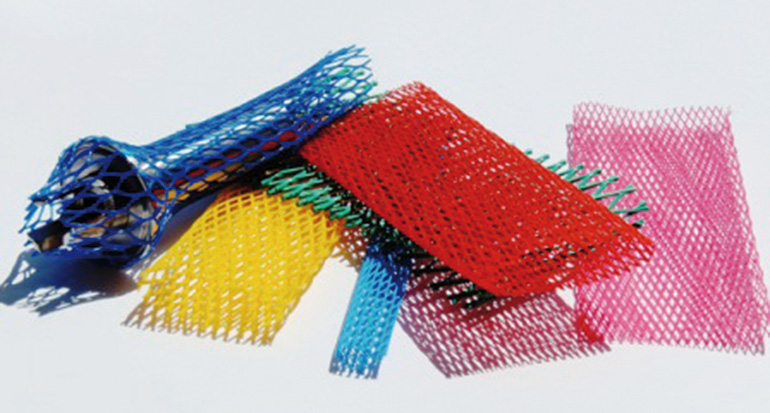 Polisol, plásticos, mallas
