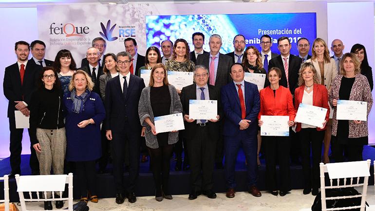Feique presenta el Informe de RSE y Sostenibilidad 2018 y entrega los II Premios de RSE