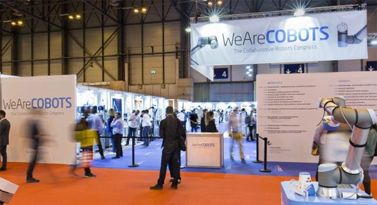 El congreso mundial sobre robótica colaborativa WeAreCOBOTS confirma su segunda edición