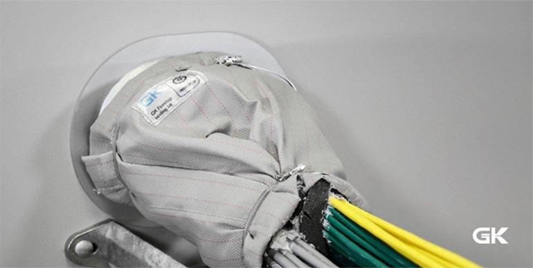 Cortafuegos para cables