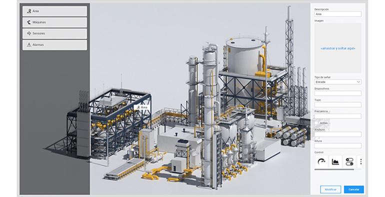 Gemelos digitales adaptables a todos los sectores industriales