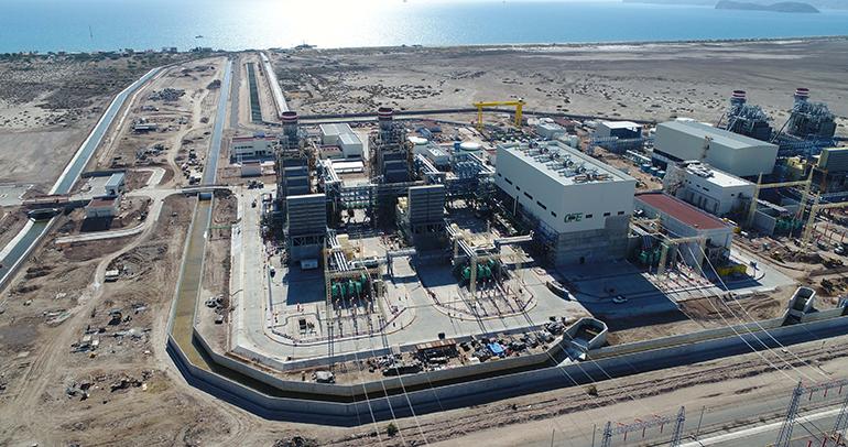 El consorcio Sener-OHL entrega la planta de ciclo combinado mexicana de Empalme