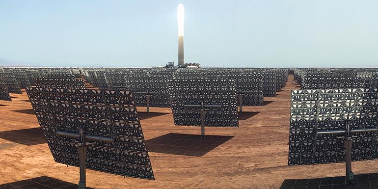 La central solar de Noor Ourzazate III logra su primera sincronización a la red