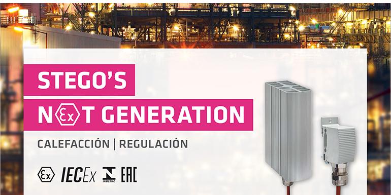 Nueva generación de productos Ex STEGO para áreas clasificadas peligrosas