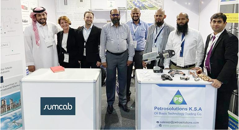 Sumcab acudió a la Sabic Conference en Arabia Saudí
