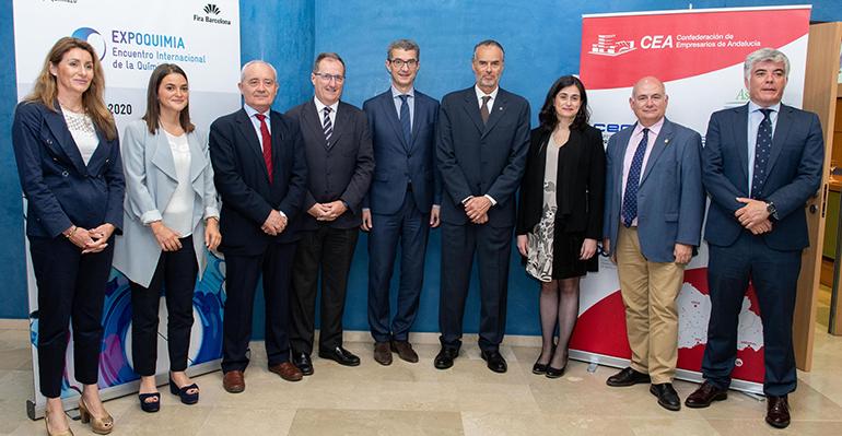 Expoquimia presenta en Sevilla la próxima edición de 2020