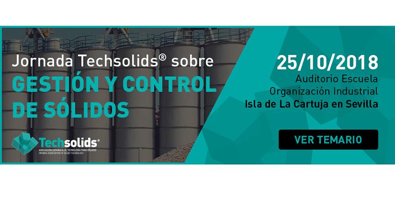 Techsolids celebra en Sevilla una jornada sobre Gestión y control de sólidos