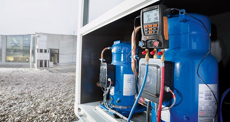 Analizador de gases, Testo