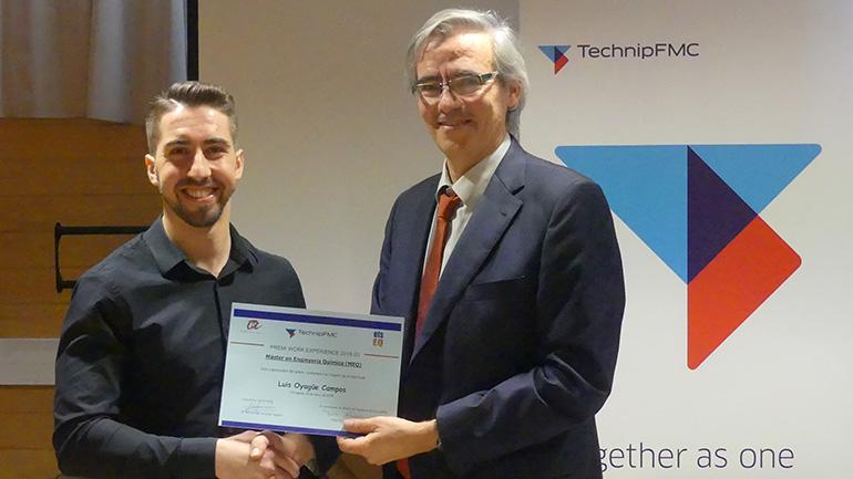 Entregado el premio Work Experience TechnipFMC-ETSEQ