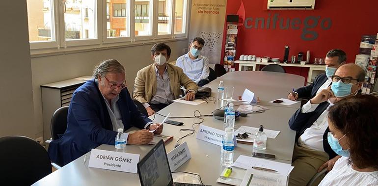 Ratificada la presidencia de Adrián Gómez y su nuevo equipo directivo en Tecnifuego