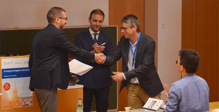 Los jóvenes investigadores del ICIQ, premiados por la EuChemS