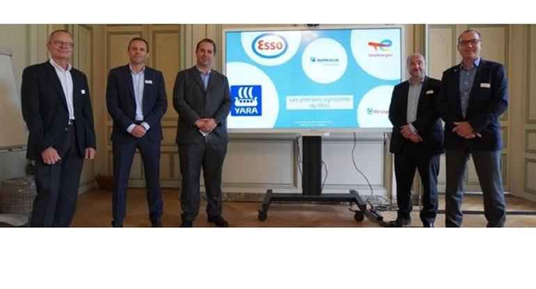 Air Liquide, Borealis, Esso, TotalEnergies y Yara colaborar para ayudar a descarbonizar la cuenca industrial de Normandía en Francia