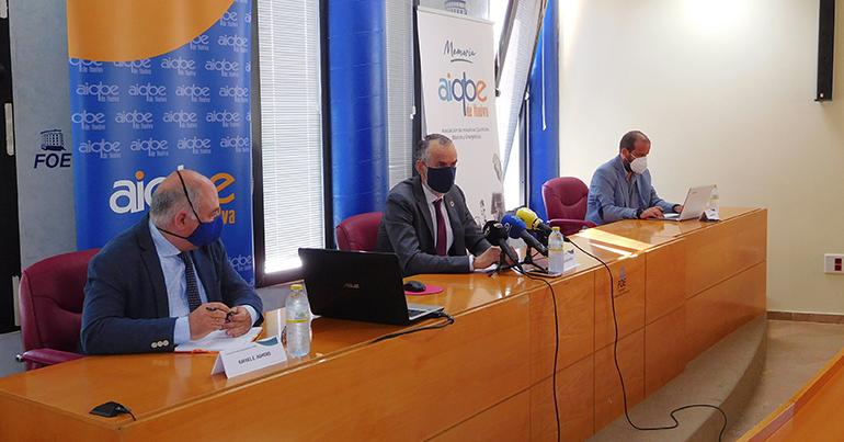 La producción de las empresas de la AIQBE se contrajo en 2020 un 23 %
