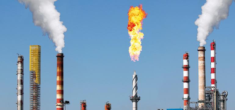Control ambiental de antorchas de refinerías de petróleo