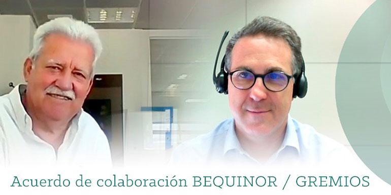 Bequinor firma un acuerdo de colaboración con la Federación de Gremios de la Construcción