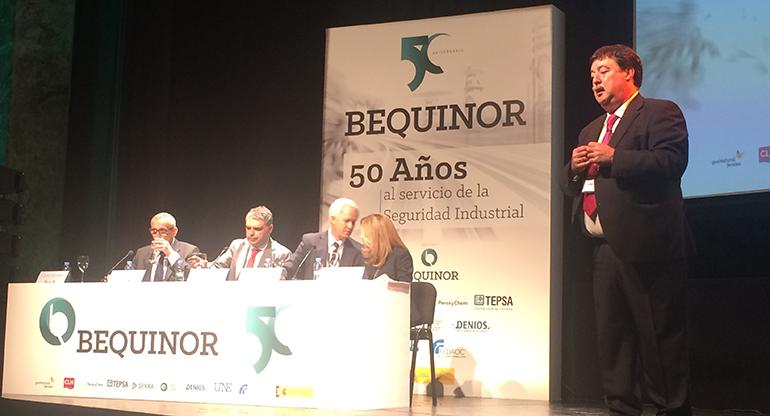 BEQUINOR celebra su 50 aniversario entre profesionales de la seguridad industrial