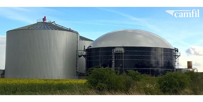 Beneficios de la solución de filtración de aire molecular adecuada para la industria de producción de biogás