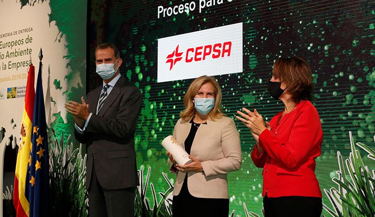 Cepsa, galardonada en los Premios Europeos de Medio Ambiente por su proyecto Detal