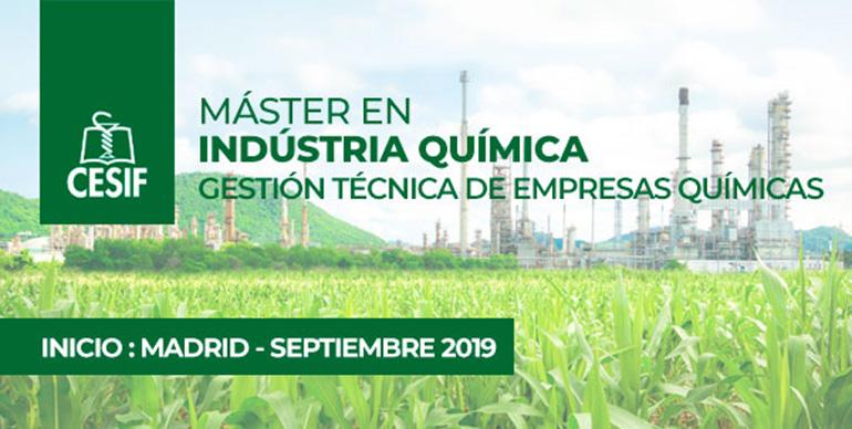 CESIF presenta su Máster en Industria Química