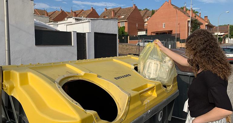 Crece un 9,6 % el reciclado de envases plásticos del hogar en España