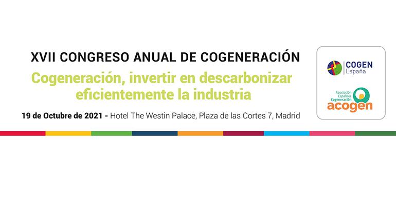 La secretaria de Estado de Energía inaugurará el XVII Congreso Anual de Cogeneración