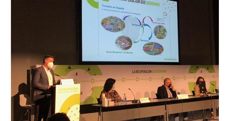 Covestro presenta su tecnología de CO2 en el Congreso Nacional del Medio Ambiente