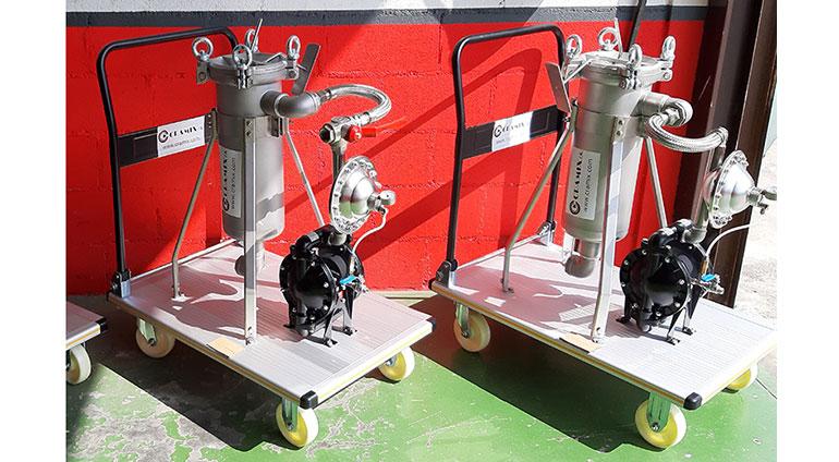Cramix suministra sistemas completos de bombeo y filtración para un fabricante de pinturas