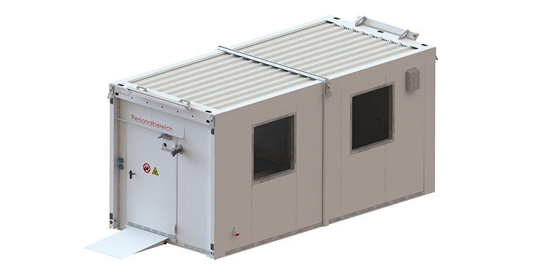 Denios presenta un laboratorio móvil prefabricado para coronavirus