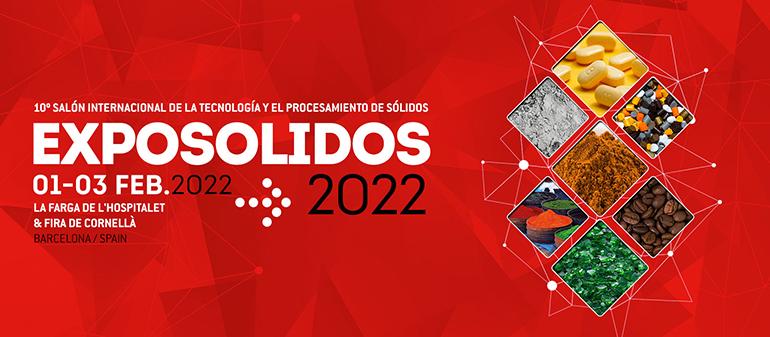 Exposólidos, Polusólidos y Expofluidos, virtual en 2021 y presencial en 2022