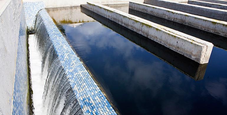 Agua reciclada de EDAR para la industria cerámica