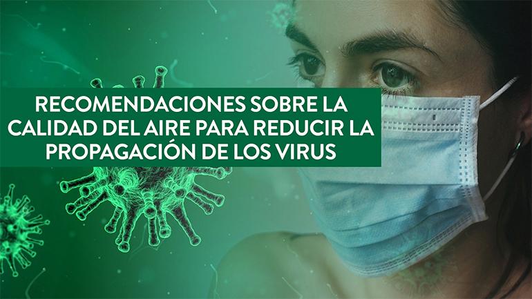 Camfil, calidad del aire, coronavirus