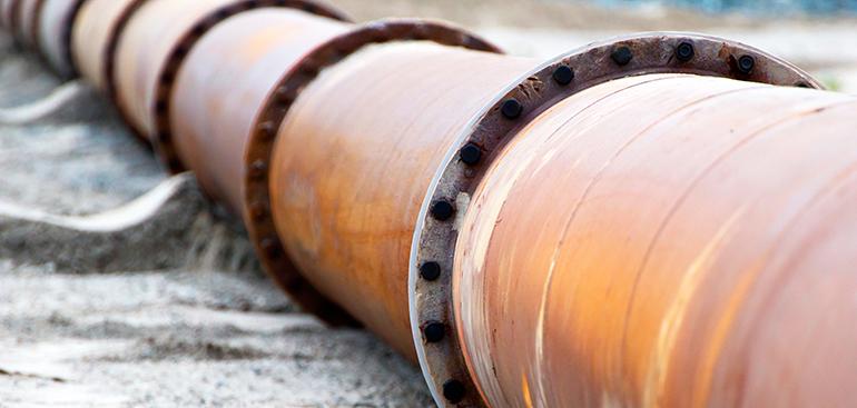 corrosión, tuberías, oleoducto