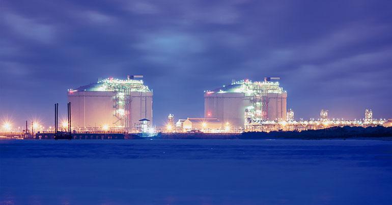 Gas natural licuado, logística