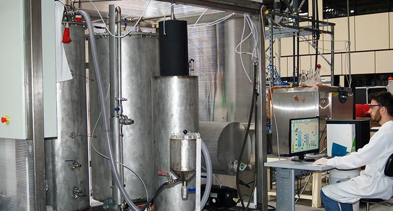 Gaiker dispone de un nuevo equipo para escalar los procesos de reciclaje químico