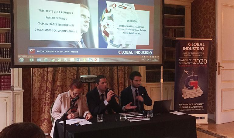 Se presenta en Madrid Global Industrie, un evento único que reúne a todo el sector industrial en Francia