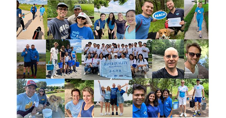 Hach participa en la iniciativa Walk for Water
