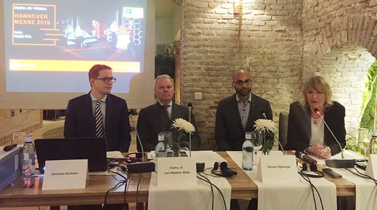 Inteligencia industrial, pero con la atención puesta en el ser humano, es el tema central de Hannover Messe 2019