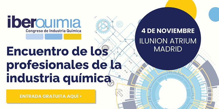 Iberquimia Madrid pondrá sobre la mesa los desafíos actuales de la industria química el próximo 4 de noviembre