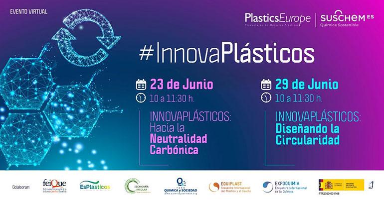 El 23 y 29 de junio, IV Edición de las Jornadas #InnovaPlásticos