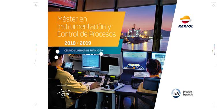 14ª edición del máster de ISA-Repsol en instrumentación y control de procesos