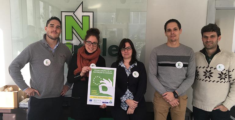 Nortpalet con la Semana Europea de la Prevención de Residuos