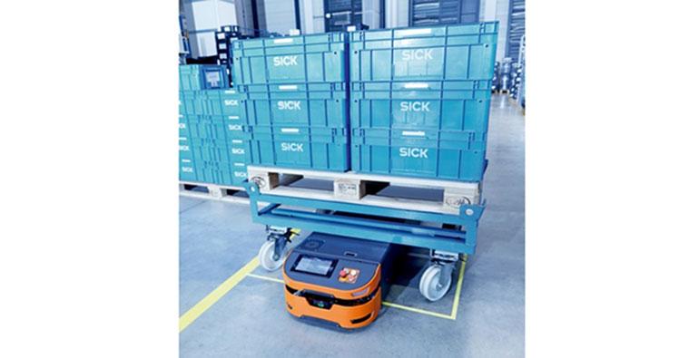 Solución de seguridad para vehículos guiados automatizados