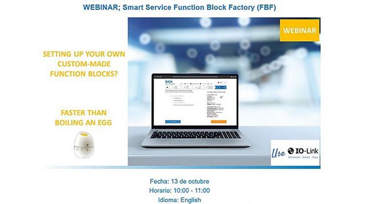 Sick muestra las ventajas de Function Block Factory (FBF) aplicada a dispositivos IO-Link en automatización