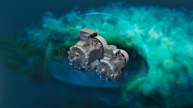 Motores para la industria petroquímica