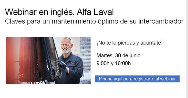 Webinar de Alfa Laval el 30 de junio sobre Compabloc+