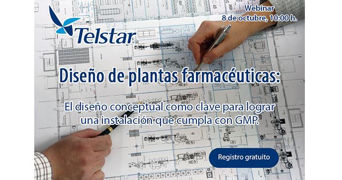 Webinar sobre diseño de plantas farmacéuticas el 8 de octubre