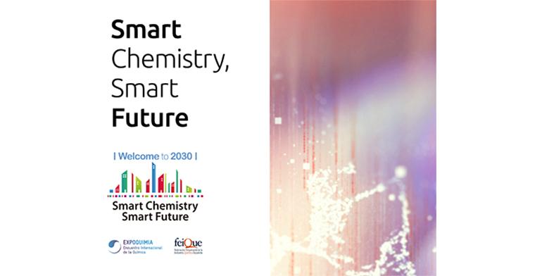 Smart Chemistry Smart Future acogerá en Expoquimia la exposición Welcome to 2030